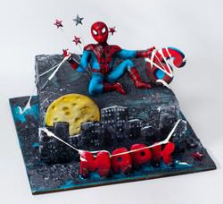 торт паук