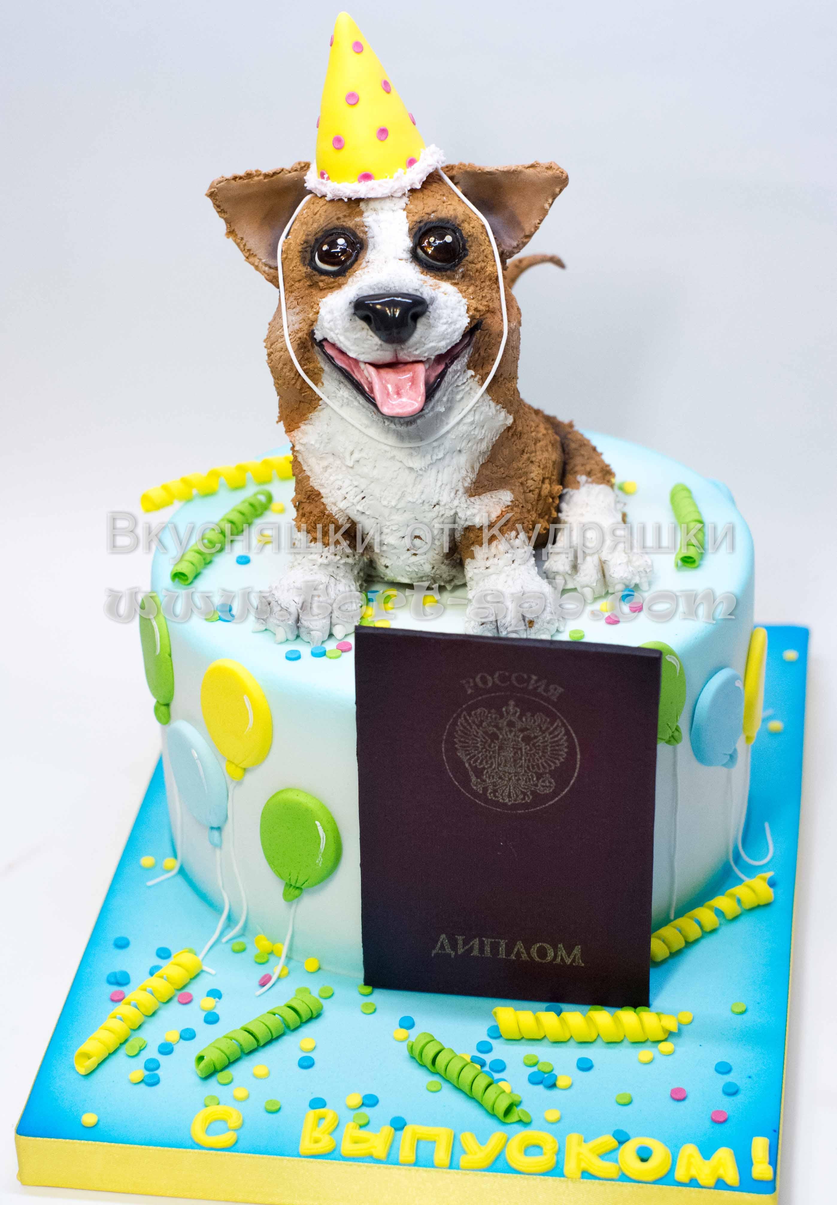 Торт на выпускной