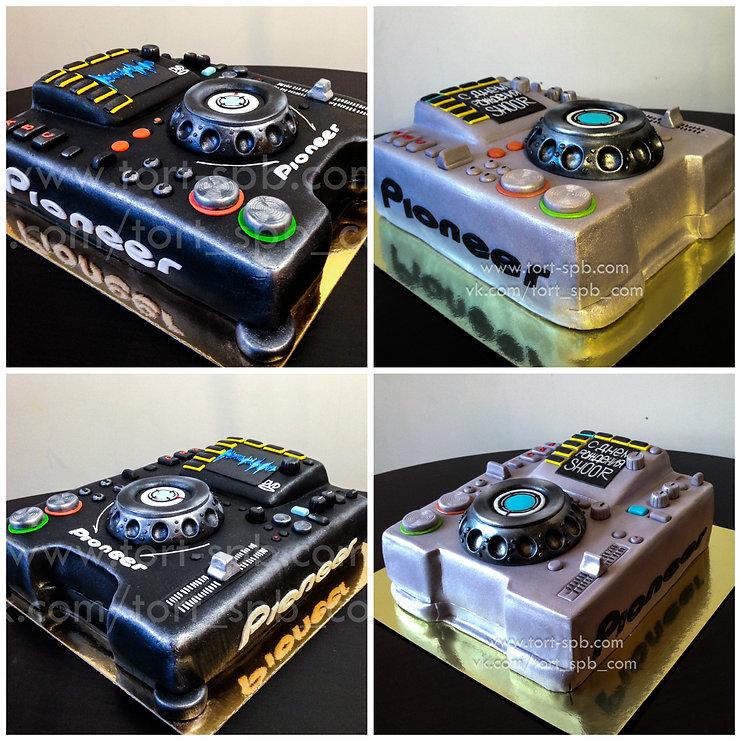 торт Пульт диджейский микшер DJ