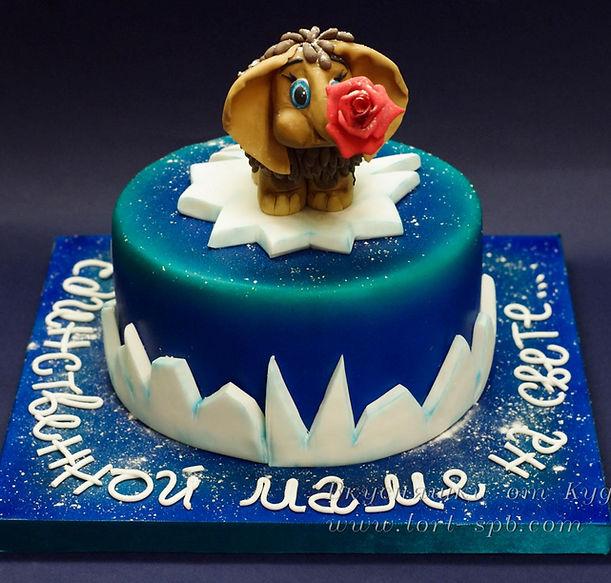 "Торт ""Мамонтенок"""