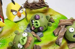 Торт злые птички Angry birds