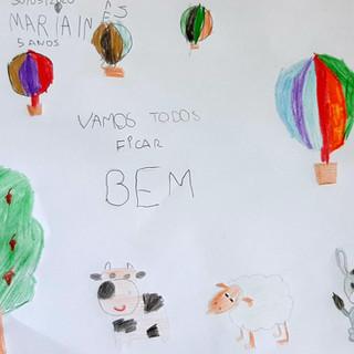 Maria Inês - 5 anos