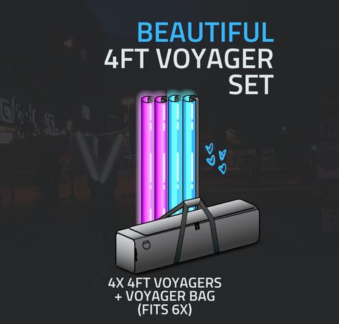 [DS02809005] Voyager Smartlight Set 4x4f