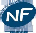 Certieié par LCIE, Norm Français