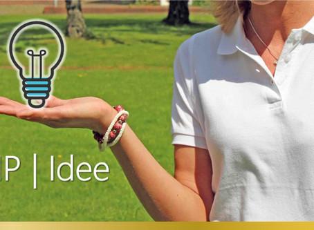 Wir lieben frische Ideen - VIP   Idee startet