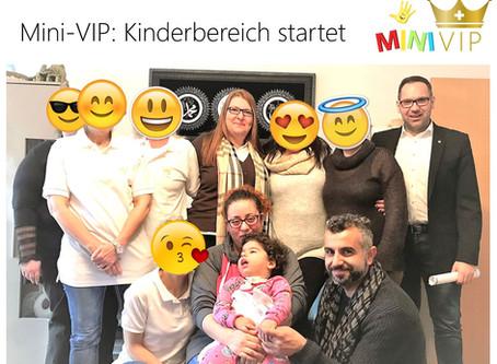 Mini-VIP: Kinderbereich startet am 01.12.