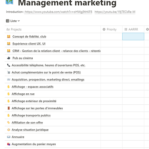 Application marketing management
