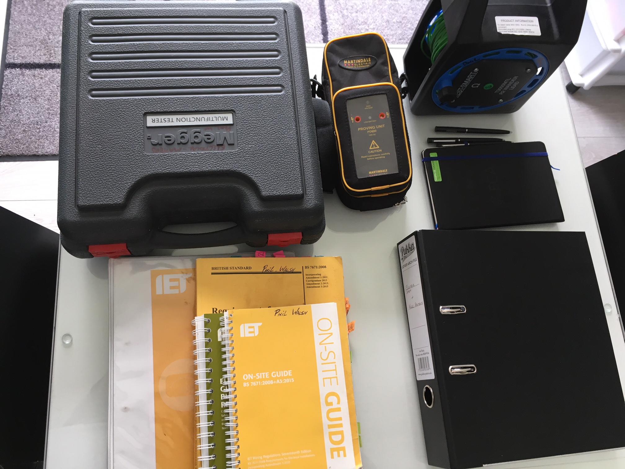 Equipment and docs