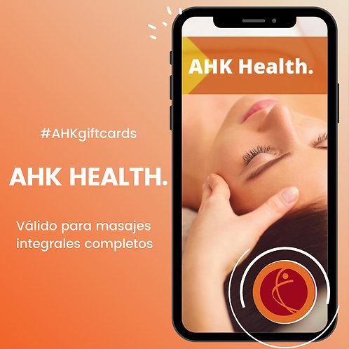 Giftcard AHK HEALTH
