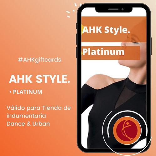 Giftcard Platinum AHK STYLE