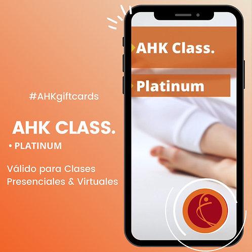 Giftcard Platinum AHK CLASS