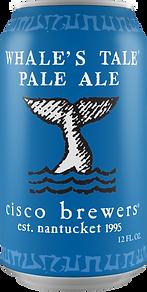 Cisco Brewers Whale's Tale Pale Ale
