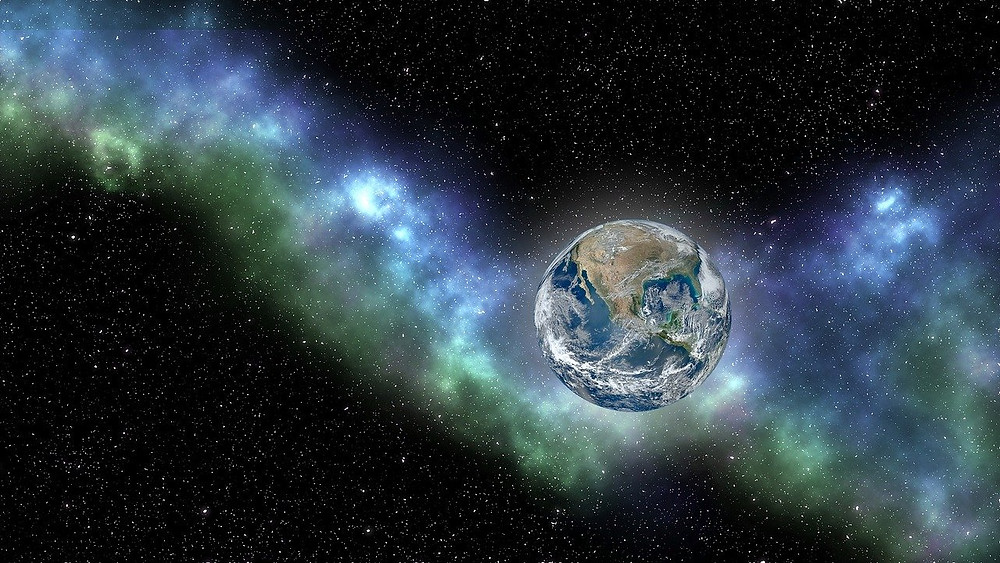 Earth, Space, Nature's Poetry of Life