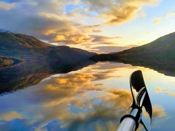 The Canoe Paddle
