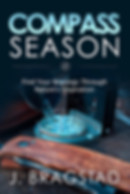 Great book club books 2019. Compass Season book cover.