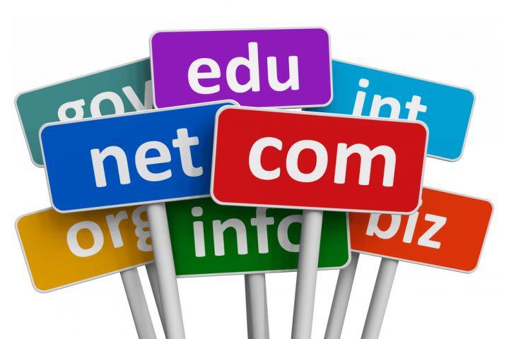 technology solve signs with .com .net .edu .info