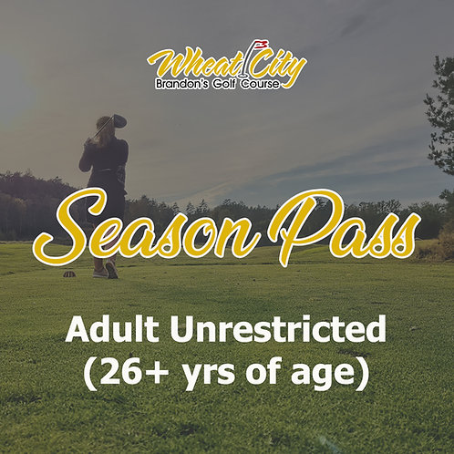 Season Pass Unrestricted - 2021