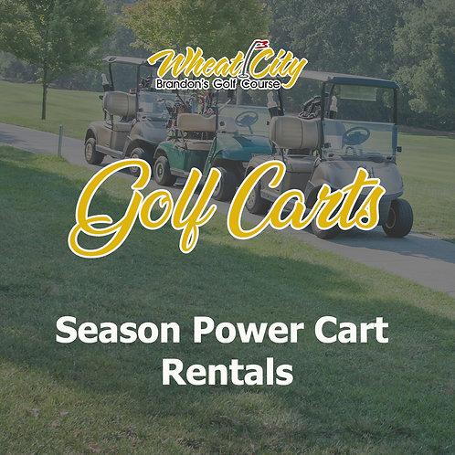 Season Power Cart Rentals