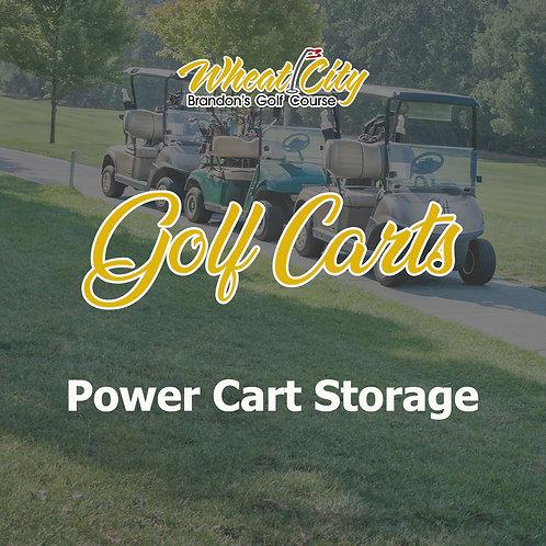 Power Cart Storage