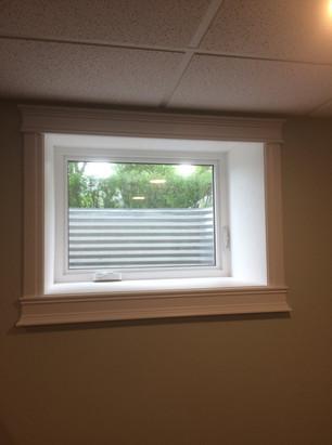 window finishing