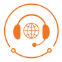 technology solve business support icon