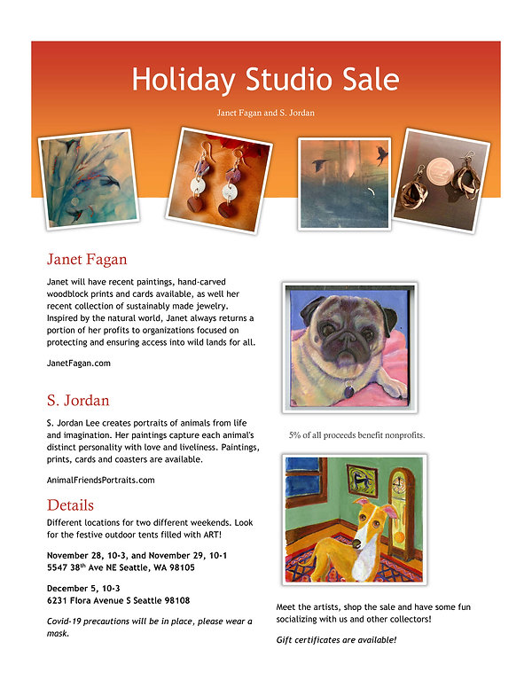 Holiday Sale Artwork and Gifts