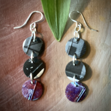 SOLD UpCycle Jewelry earrings   All together