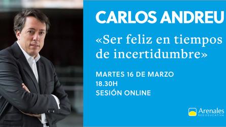 Carlos Andreu en la Jornada de AMPAS de Arenales