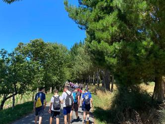 Comenzamos el Camino de Santiago 2020