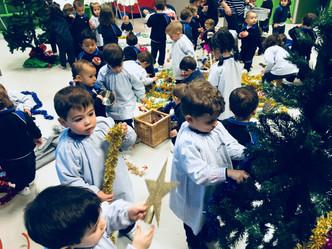 Navidad en la Escuela Infantil.
