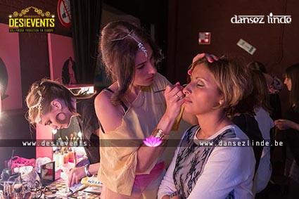 Maquillage indienne et Bollywood | www.DesiEvents.eu