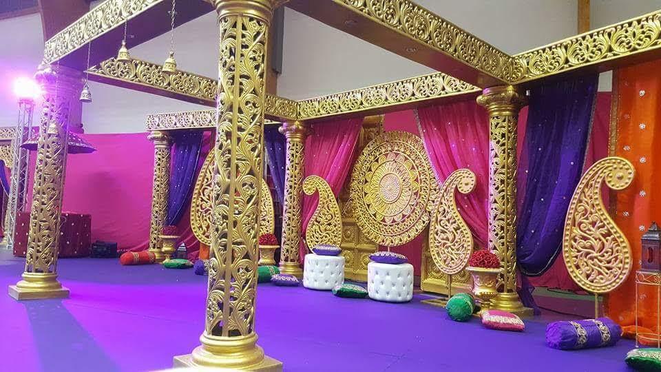 Décoration indienne pour le mariage