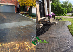 COLS flagstone driveway walkway