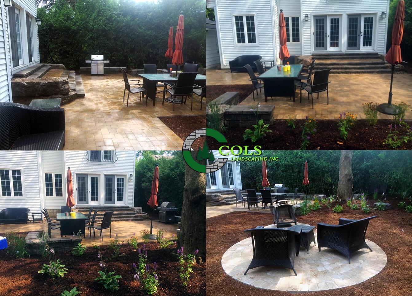 COLS backyard patio landscape ideas