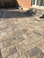 Interlocking flagstone patio designer
