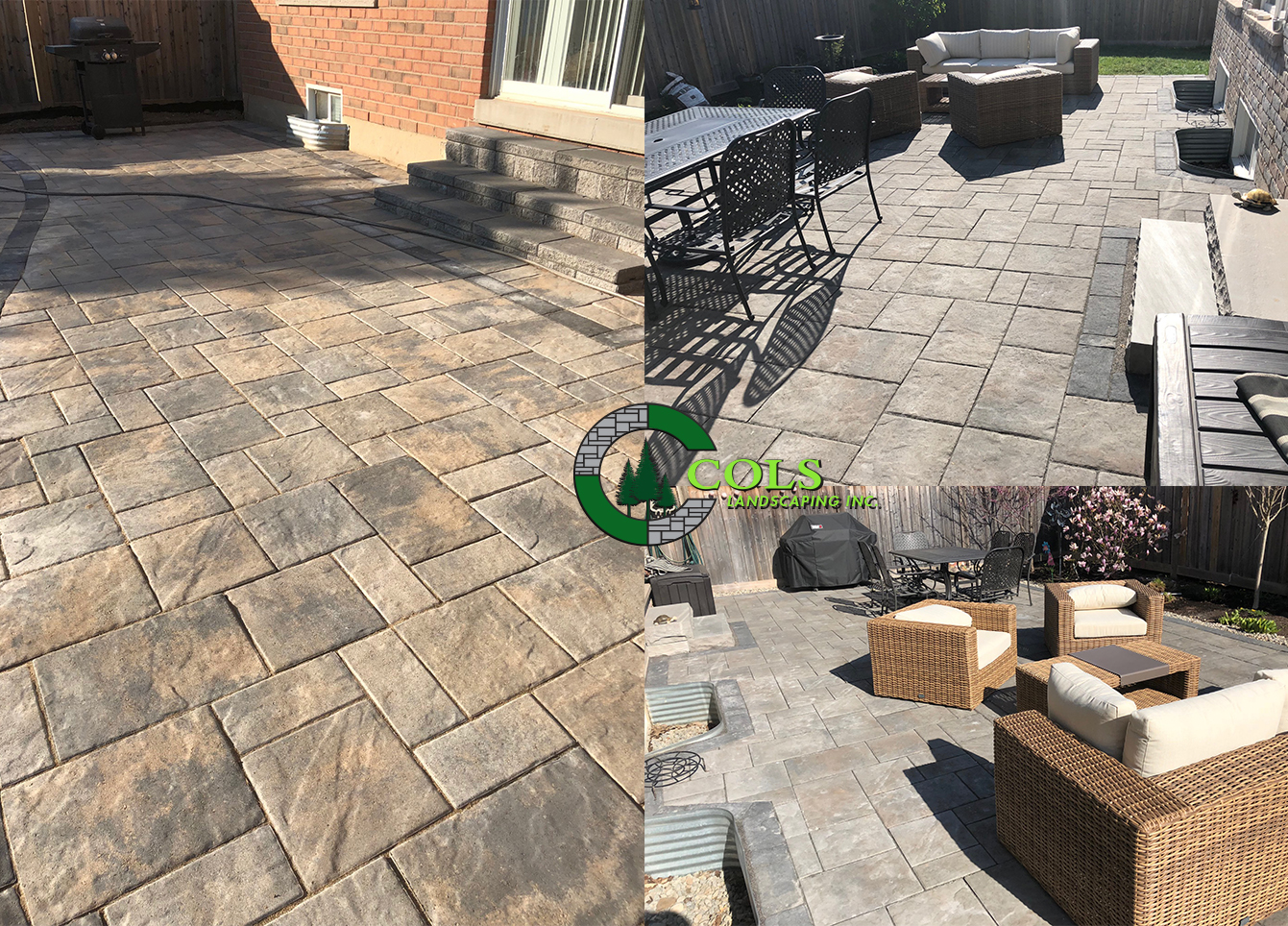 COLS patio landscaping ideas
