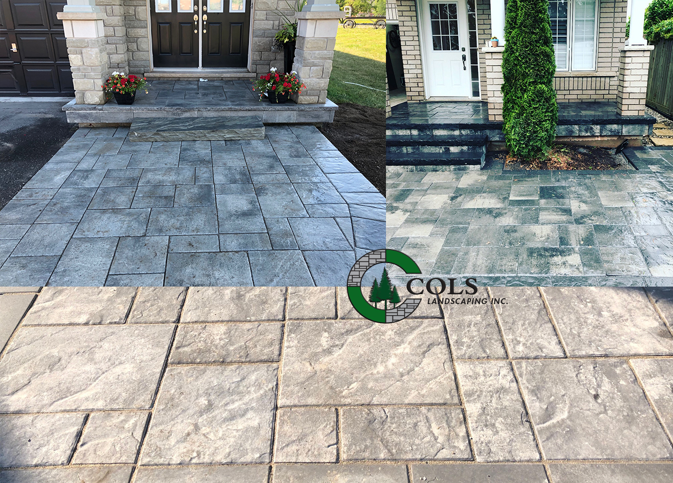 COLS flagstone walkway