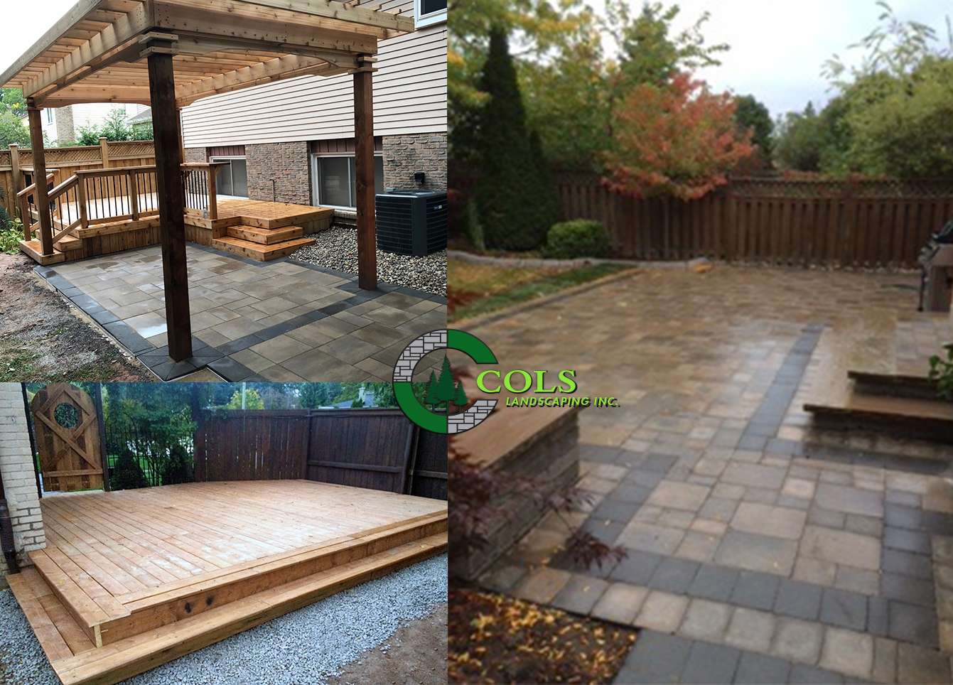 COLS deck builder patio landscaping