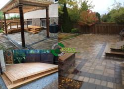 COLS deck builder patio landscaping