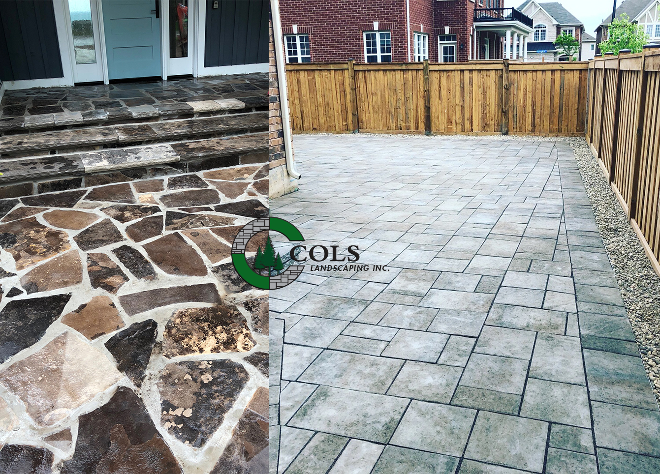 COLS flagstone patio design ideas