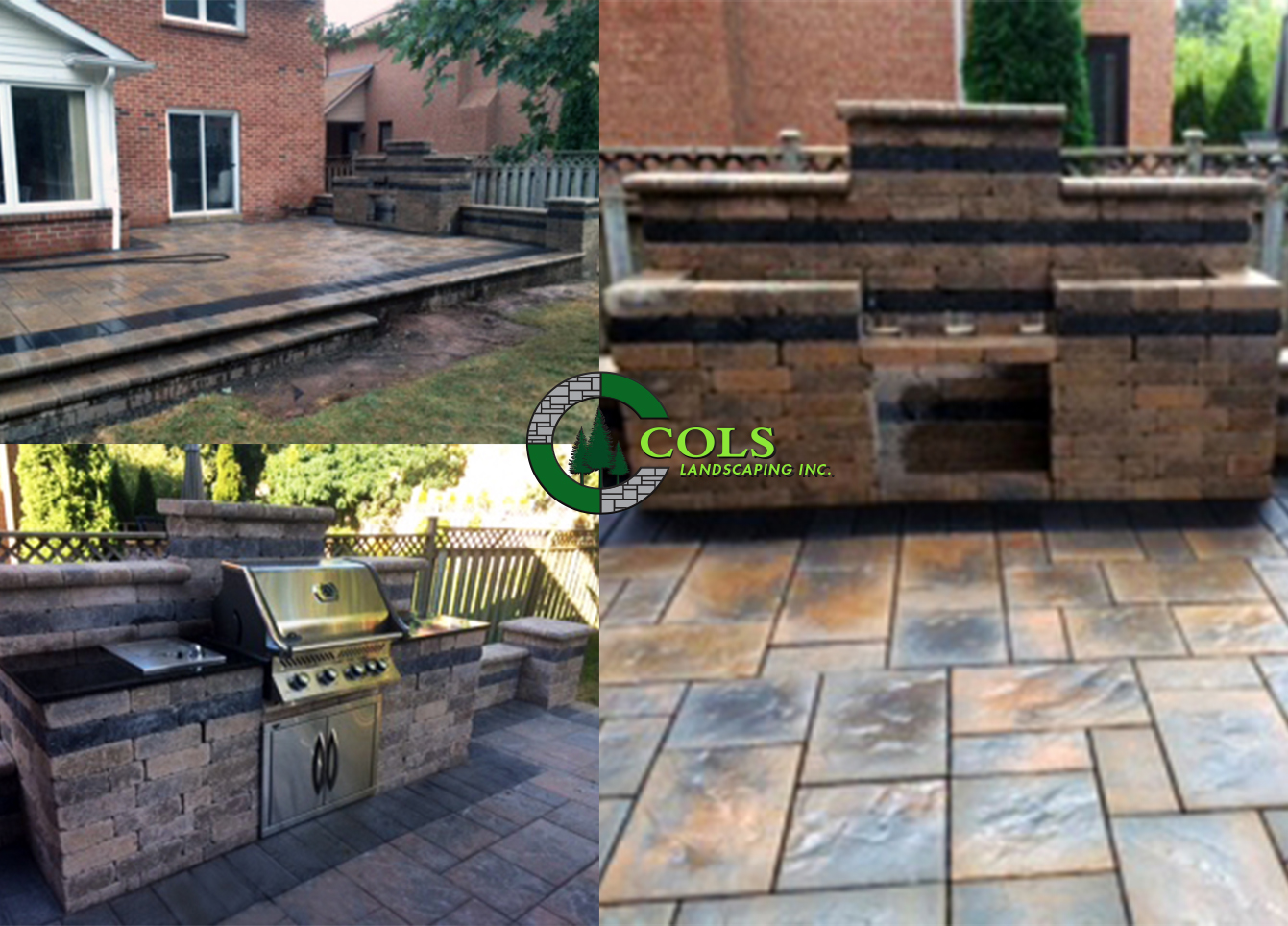 COLS outdoor kitchen design idea