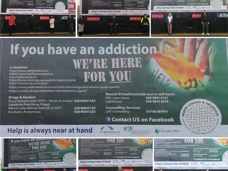 Let the message be heard, communities want safety and an end to drug dealing