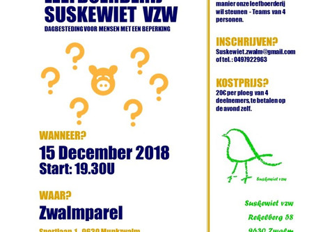 2de Suskewietquiz een succes!