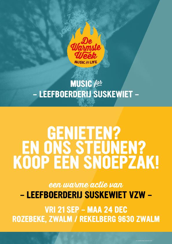 Steun Suskewiet door snoepjes te kopen!                                                          4,5