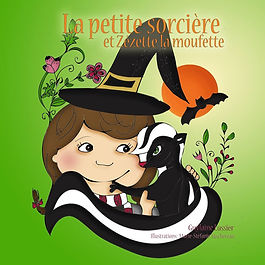 La petite sorcière et Zezette la mouffette