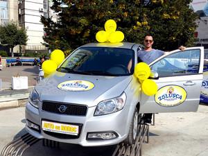 Familia Codreanu câștigă al 45-lea Auto cu Noroc la extragerea din 15 septembrie 2018!