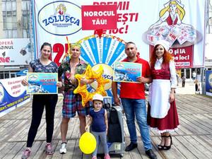 ZOLUȘCA a jucat 50 de premii și două Vacanțe la Mare!