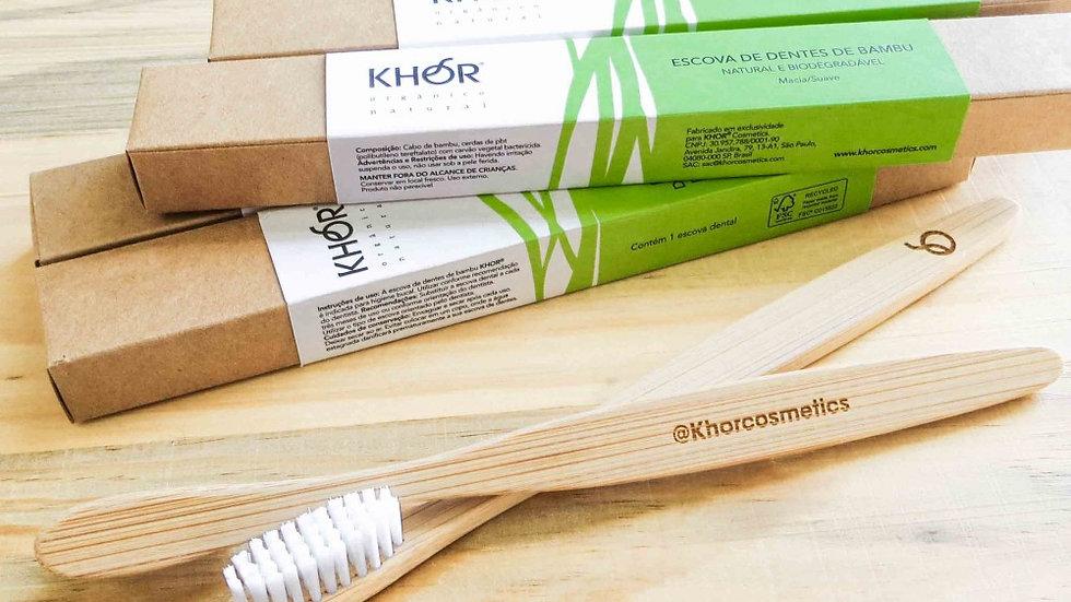 Escova de Bambu Khor