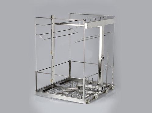 Rack para limpeza de tubos respiratórios - Sanders
