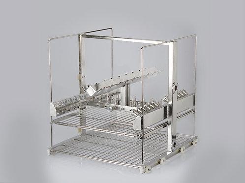 Rack para limpeza de endoscópios rígidos e canulados - Sanders